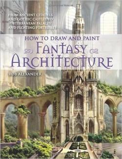 چگونگی طراحی و نقاشی معماری فانتزی