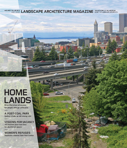 مجله Landscape Architecture Magazine USA؛ آگوست 2019