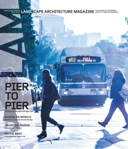 مجله Landscape Architecture Magazine USA؛ دسامبر 2018