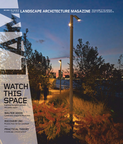 مجله Landscape Architecture Magazine USA؛ دسامبر 2020