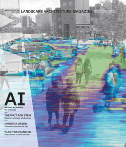 مجله Landscape Architecture Magazine USA؛ فوریه 2019