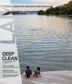 مجله Landscape Architecture Magazine USA؛ نوامبر 2018