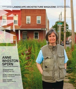 مجله Landscape Architecture Magazine USA؛ اکتبر 2018