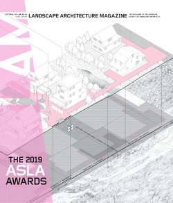 مجله Landscape Architecture Magazine USA؛ اکتبر 2019