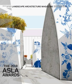 مجله Landscape Architecture Magazine USA؛ سپتامبر 2018
