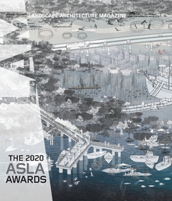 مجله Landscape Architecture Magazine USA؛ سپتامبر 2020