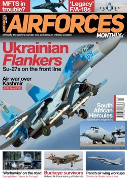 مجله AirForces Monthly؛ آپریل 2019