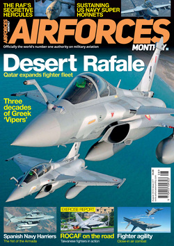 مجله AirForces Monthly؛ آگوست 2019