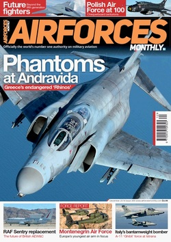مجله AirForces Monthly؛ دسامبر 2018