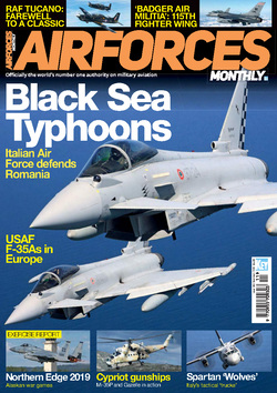 مجله AirForces Monthly؛ نوامبر 2019