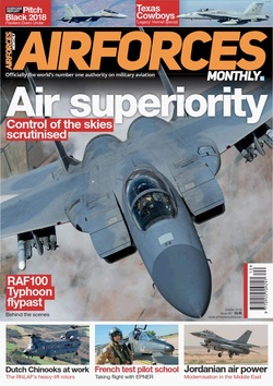 مجله AirForces Monthly؛ اکتبر 2018