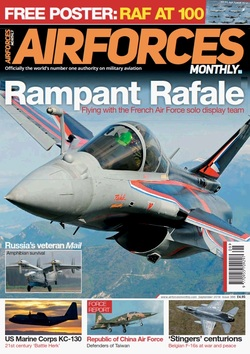 مجله AirForces Monthly؛ سپتامبر 2018