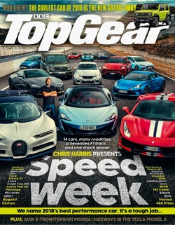 مجله BBC Top Gear UK؛ نوامبر 2018