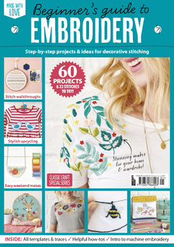 مجله Beginners Guide To Embroidery؛ فوریه 2020
