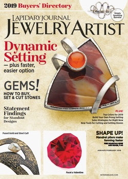 مجله Lapidary Journal Jewelry Artist؛ ژانویه 2019