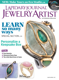 مجله Lapidary Journal Jewelry Artist؛ مارس 2021