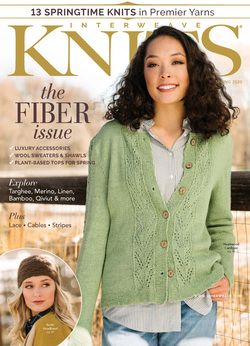 مجله Interweave Knits؛ مارس 2020