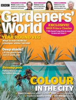 مجله BBC Gardeners World؛ آگوست 2018