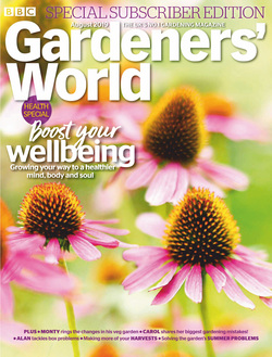مجله BBC Gardeners World؛ آگوست 2019