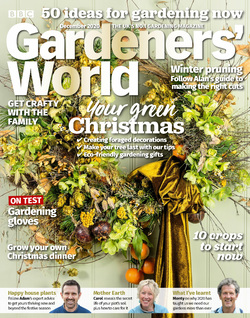 مجله BBC Gardeners World؛ دسامبر 2020