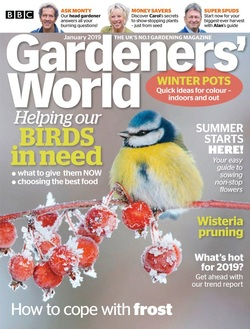 مجله BBC Gardeners World؛ ژانویه 2019