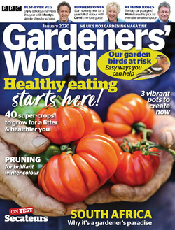 مجله BBC Gardeners World؛ ژانویه 2020