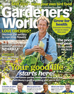 مجله BBC Gardeners World؛ ژانویه 2021