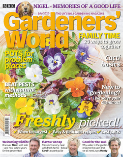 مجله BBC Gardeners World؛ جولای 2020