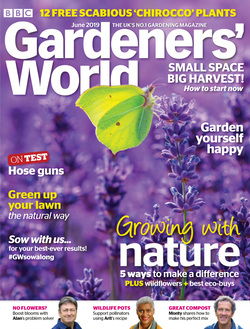 مجله BBC Gardeners World؛ ژوئن 2019