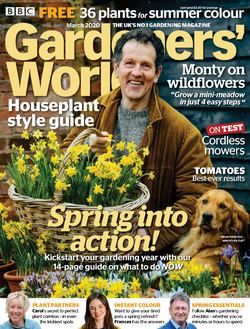 مجله BBC Gardeners World؛ مارس 2020