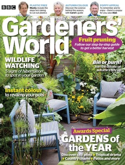 مجله BBC Gardeners World؛ نوامبر 2018