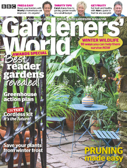 مجله BBC Gardeners World؛ نوامبر 2019