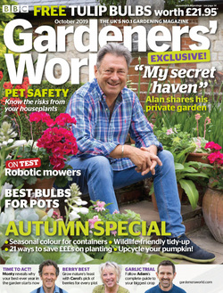 مجله BBC Gardeners World؛ اکتبر 2019