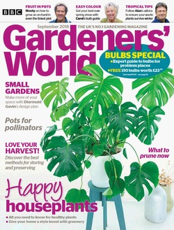 مجله BBC Gardeners World؛ سپتامبر 2018