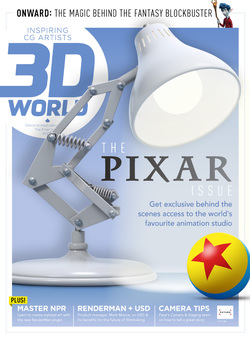 مجله 3D World UK؛ آگوست 2020