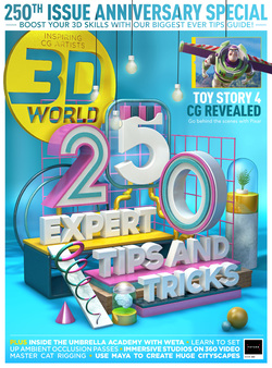 مجله 3D World UK؛ سپتامبر 2019