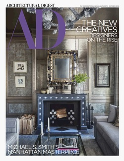 مجله Architectural Digest USA؛ اکتبر 2018