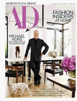 مجله Architectural Digest USA؛ سپتامبر 2018