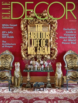 مجله Elle Decor USA؛ دسامبر 2018
