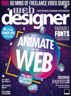 مجله Web Designer UK؛ اکتبر 2018