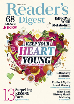 مجله Readers Digest USA؛ فوریه 2021