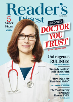 مجله Readers Digest USA؛ مارس 2020