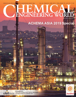مجله Chemical Engineering World؛ آپریل 2019
