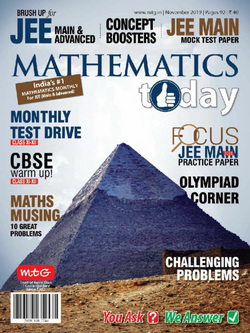مجله Mathematics Today؛ نوامبر 2019