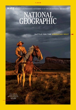 مجله National Geographic USA؛ نوامبر 2018