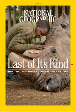 مجله National Geographic USA؛ اکتبر 2019