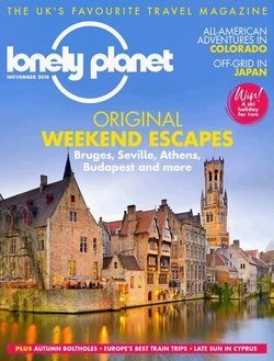 مجله Lonely Planet Traveller UK؛ نوامبر 2018