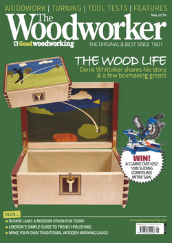 مجله The Woodworker & Woodturner؛ می 2019