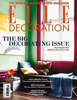 مجله Elle Decoration آپریل 2015