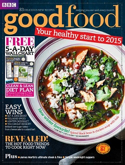 مجله BBC Good Food UK ژانویه 2015